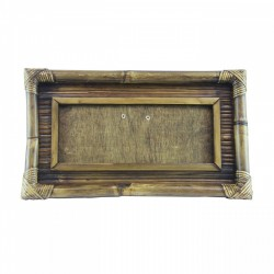 Natural Bamboo frame with...
