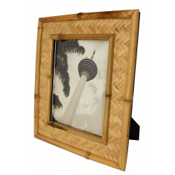 Natural Bamboo Frame With Stand 5 X 7 Or 7 X 5