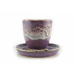 Handcrafted Purple Celadon...