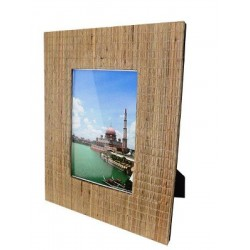 Natural Mendong frame with...