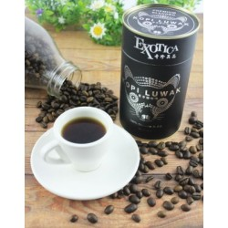Kopi Luwak Specialty Arabica Premium Blend Gourmet Coffee Roasted Whole Beans (100g)