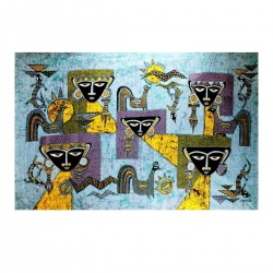 Batik Art Painting, 'Ethnic...