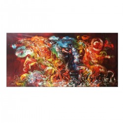 Batik Art Painting ,...
