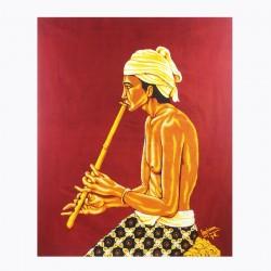 Batik Art Painting,  'Man...