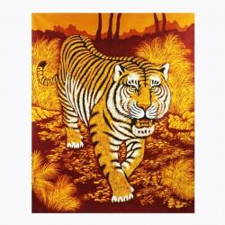 Batik Art Painting, 'Tiger'...