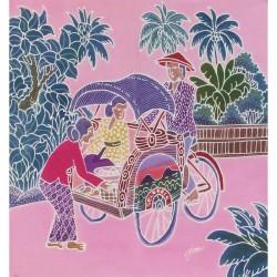 Batik Art Painting, ' Beca'...