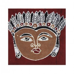 Batik Art Painting, 'Mask'...