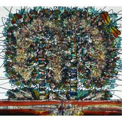 Batik Art Painting, 'Tree...