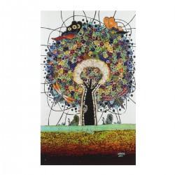 Batik Art Painting 'Tree of...