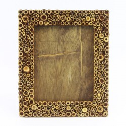 Natural Bamboo Dot frame...